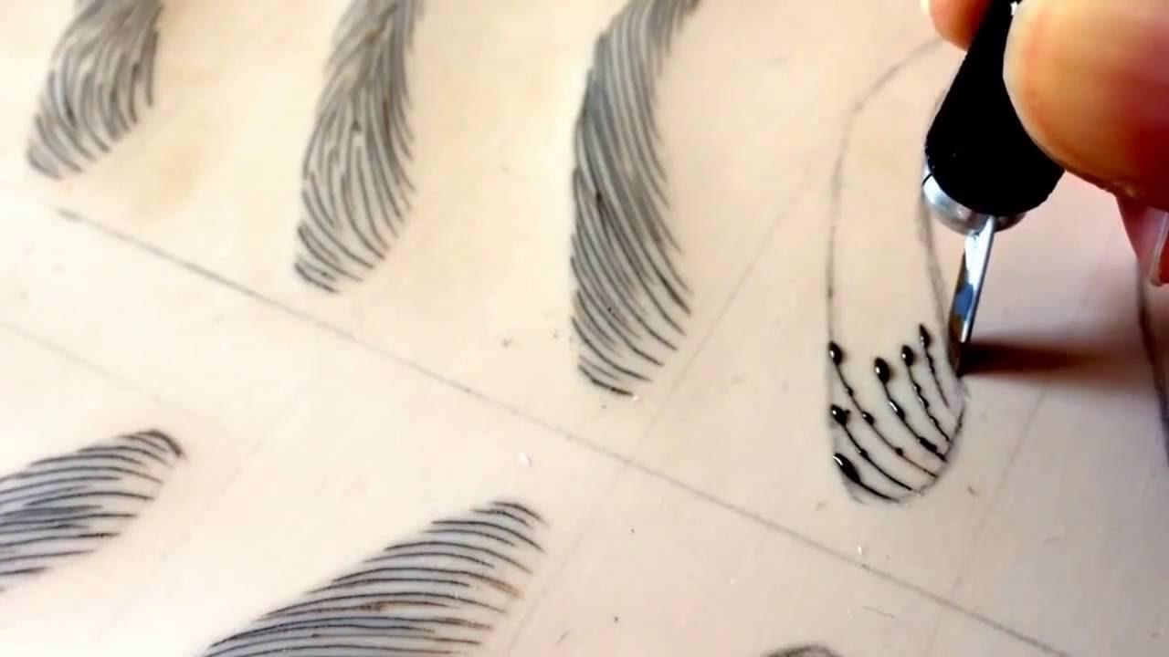 تعليم تاتو الحواجب بتقنية شعرة شعرة /مايكروبيلدينغ/